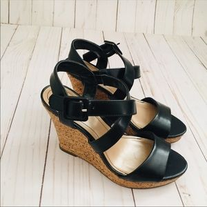 Style & Co Strappy Cork Sandal Wedge